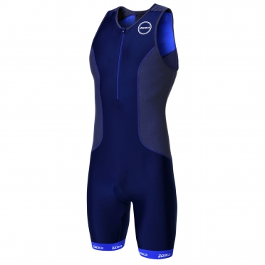 Zone3 Aquaflo plus tri suit blue/grey men
