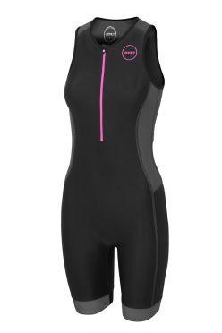 Zone3 Aquaflo plus Sleeveless trisuit black women
