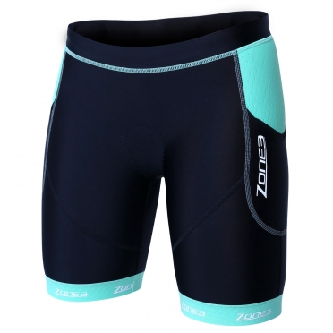 Zone3 Aquaflo plus tri short black/green women