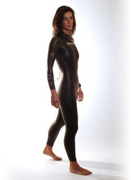 Aquaman Cell gold Fullsleeve wetsuit women