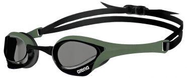 Arena Cobra ultra swipe swimming goggles gray/army/black