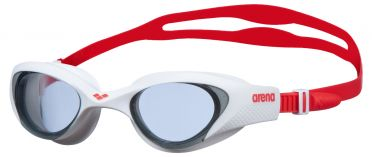 Arena The One swimmingoggles white/red