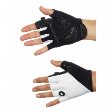 Assos summerGloves_s7 white unisex