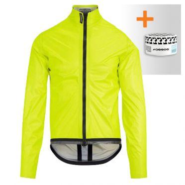Assos Equipe RS Schlosshund rain jacket Fluo yellow unisex