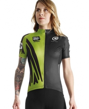 Assos Cape Epic XC evo7 SS cycling jersey green women
