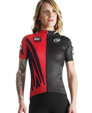 Assos Cape Epic XC evo7 SS cycling jersey red women