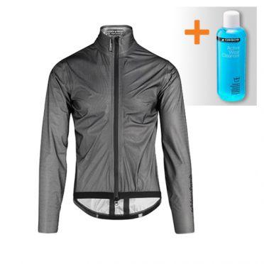 Assos Equipe RS Schlosshund rain jacket black unisex