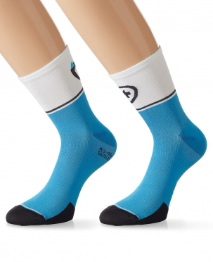Assos ExploitSocks_evo7 cycling socks blue men