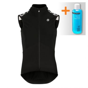 Assos Mille GT Spring fall Airblock vest black men
