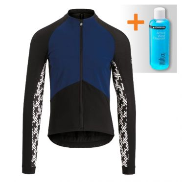 Assos Mille GT spring fall jacket blue men