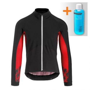 Assos Mille GT spring fall jacket red men