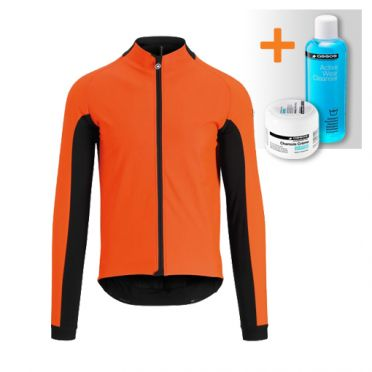 Assos Mille GT ultraz winter jacket red men