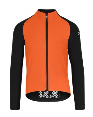 Assos Mille GT winter EVO Cycling jacket orange men