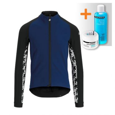 Assos Mille GT winter jacket blue men