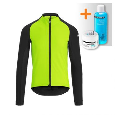 Assos Mille GT winter jacket green men