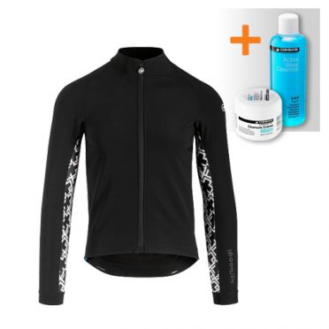 Assos Mille GT winter jacket black men