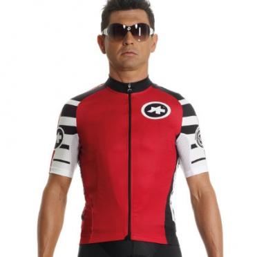 Assos SS.mangussta_s7 cycling jersey red unisex