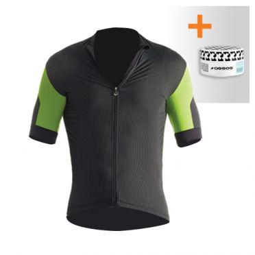Assos SS.rallytrekkingJersey_evo7 cycling jersey green men + NS.skinFoilSummer_evo7