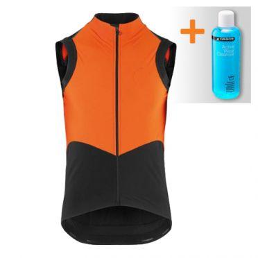 Assos Tiburugiletéquipe sleeveless vest orange men