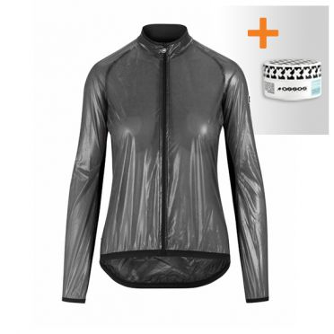 Assos Uma GT Clima EVO cycling jacket black woman