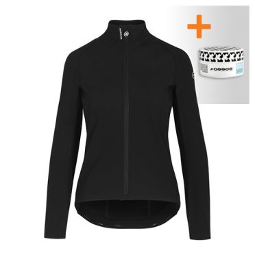 Assos Uma GT Ultraz winter EVO cycling jacket black woman