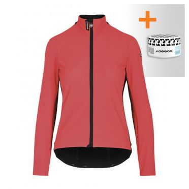 Assos Uma GT Ultraz winter EVO cycling jacket pink woman