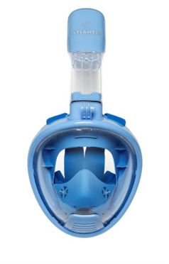 Atlantis 2.0 Kids Full face snorkel mask blue
