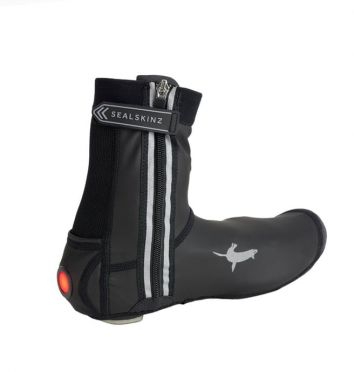 Sealskinz All weather LED open sole cycling overshoe black