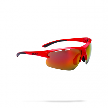 BBB Sports glasses Impulse MLC glossy red