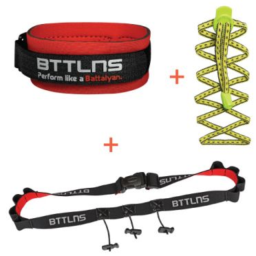 BTTLNS Triathlon accessories discount package yellow