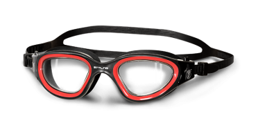 BTTLNS Ghiskar 1.0 clear lens goggles black/red