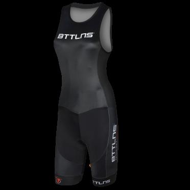 BTTLNS Goddess ITU trisuit sleeveless black Nemesis 1.0