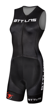 BTTLNS Rapine 2.0 trisuit sleeveless black women