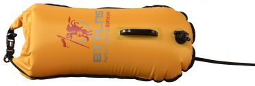 BTTLNS Saferswimmer buoy dry bag 28 liter Poseidon 1.0 yellow