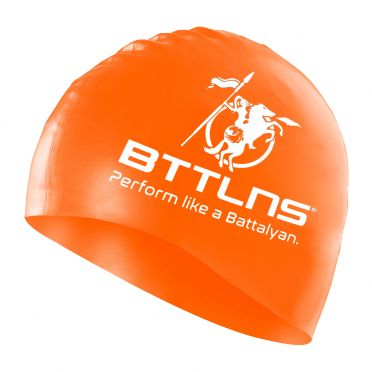 BTTLNS Silicone swimcap orange Absorber 2.0