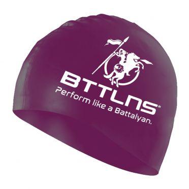 BTTLNS Silicone swimcap neon-purple Absorber 2.0