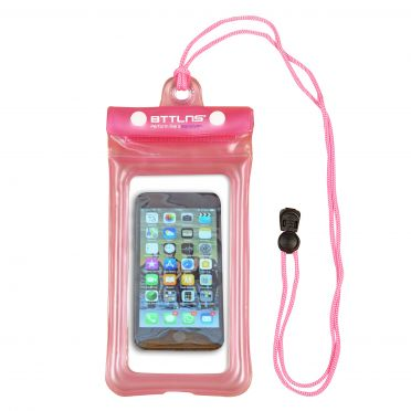 BTTLNS Endymion 1.0 floating waterproof phone pouch pink
