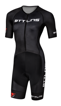 BTTLNS Typhon 2.0 trisuit short sleeve black women