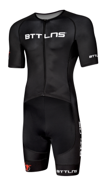 BTTLNS Typhon 2.0 trisuit short sleeve black men
