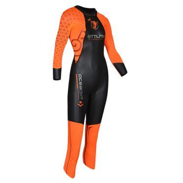 BTTLNS Oceanus 1.0 full sleeve wetsuit kids