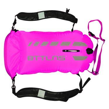 BTTLNS Tethys 1.0 safeswimmer buoy 35 liters pink