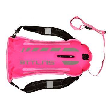 BTTLNS Saferswimmer security lighted buoy dry bag Scamander 2.0 pink
