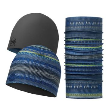 BUFF Microfiber reversible hat + original BUFF combi oslo blue