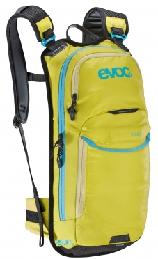 Evoc Stage 6L + 2L bladder backpack yellow