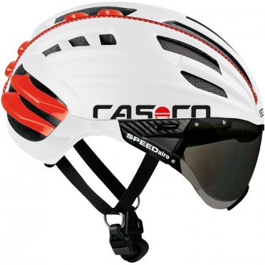 Casco SPEEDairo cycling helmet white/red
