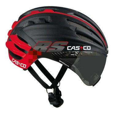 Casco SPEEDairo RS cycling helmet black/red
