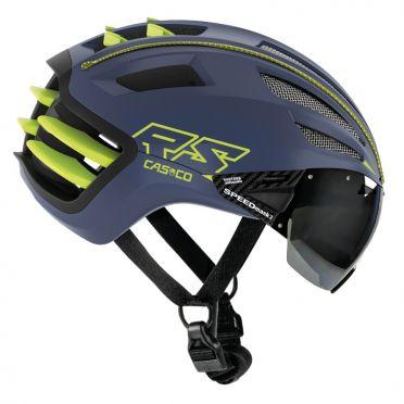 Casco SPEEDairo 2 RS cycling helmet blue/yellow