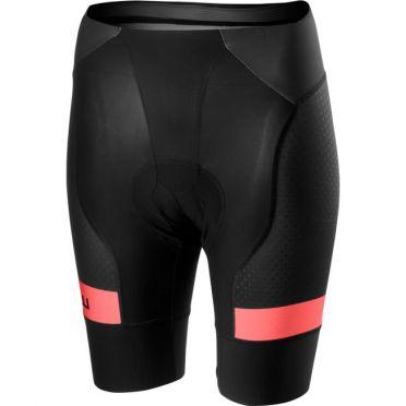 Castelli free aero race 4 W short black/pink women