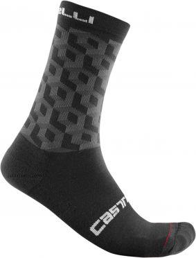Castelli Cubi 18 cycling socks black men