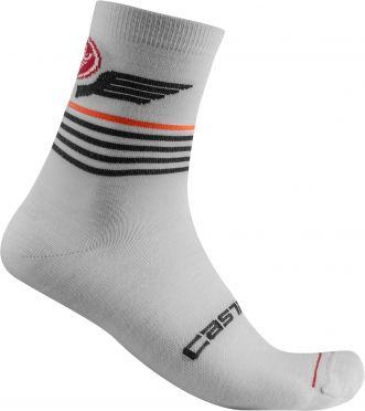 Castelli Lancio 15 cycling socks grey men